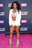 Singer Dreezy attends the VH1 Hip Hop Honors All Hail The Queens at David Geffen Hall on July 11 2016 in New York City