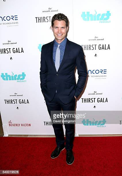 Singer Drew Seeley attends the 7th Annual Thirst Gala at The Beverly Hilton Hotel on June 13 2016 in Beverly Hills California