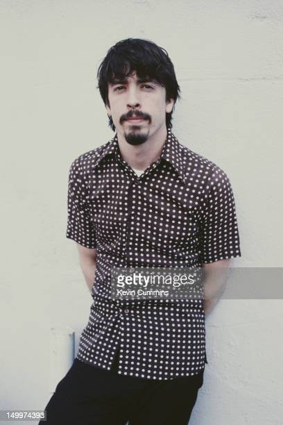 Singer drummer and guitarist Dave Grohl of American rock group Foo Fighters Los Angeles March 1997