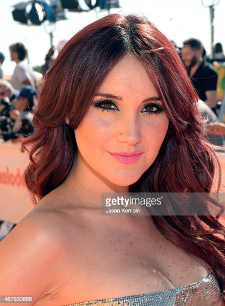 Singer Dulce Maria attends Nickelodeon's 28th Annual Kids' Choice Awards held at The Forum on March 28 2015 in Inglewood California