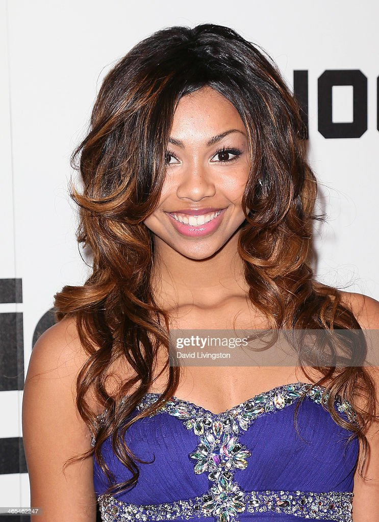 Singer Dylan Jenet Collins attends Republic Records Post Grammy Party at 1 OAK on January 26, 2014 in West Hollywood, California.