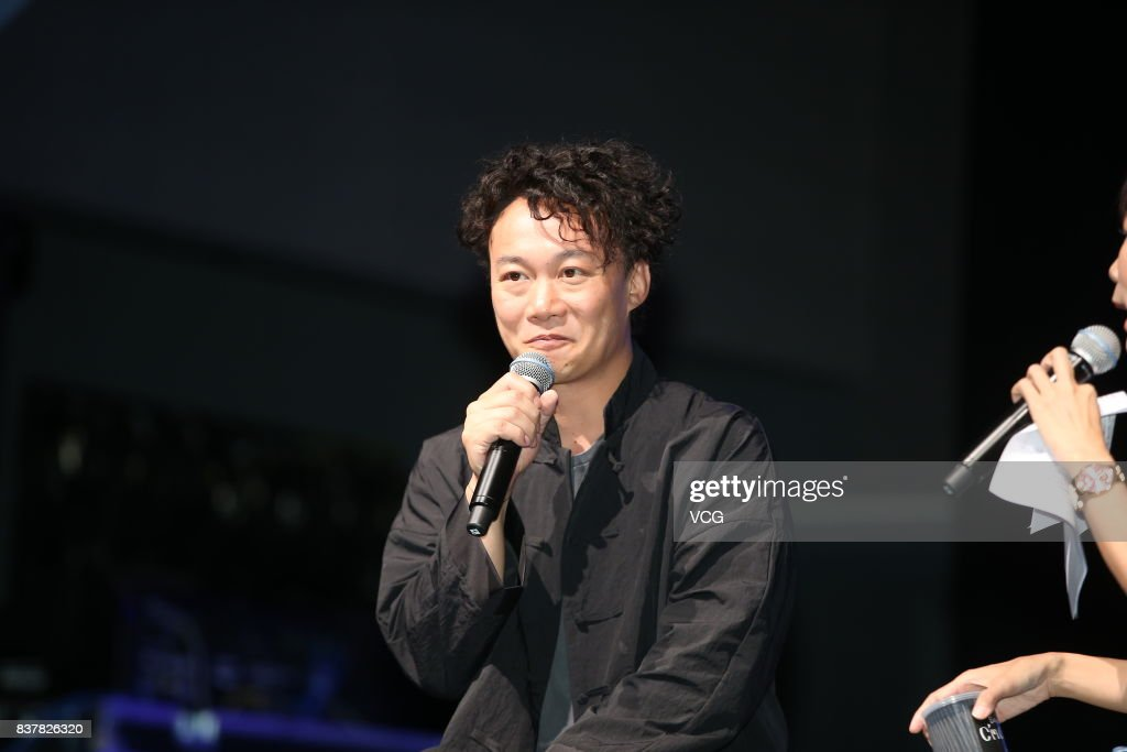 Singer Eason Chan promotes his new album 'C'mon in' on August 23, 2017 in Taipei, Taiwan of China.