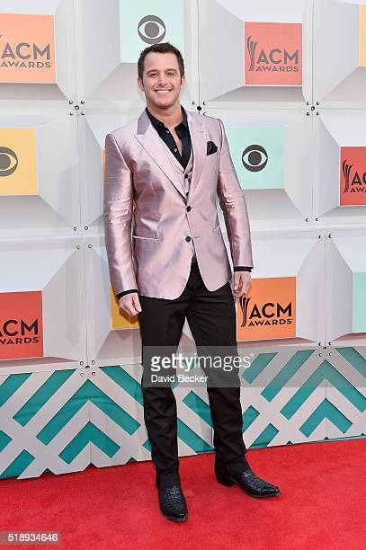 Singer Easton Corbin attends the 51st Academy of Country Music Awards at MGM Grand Garden Arena on April 3 2016 in Las Vegas Nevada