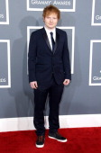 Singer Ed Sheeran attends the 55th Annual GRAMMY Awards at STAPLES Center on February 10 2013 in Los Angeles California