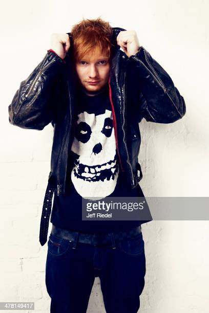Singer Ed Sheeran is photographed for People Magazine on October 30 2013 in New York City PUBLISHED IMAGE