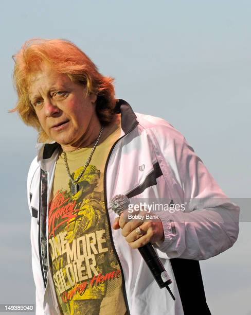 Singer Eddie Money attends the 30th annual Quick Chek New Jersey Festival of Ballooning at Solberg Airport on July 27 2012 in Readington New Jersey
