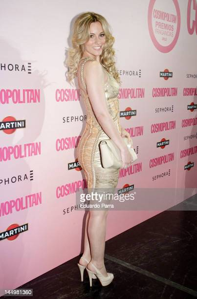 Singer Edurne Garcia attends Cosmopolitan fragances awards photocall at Calderon theatre on May 21 2012 in Madrid Spain