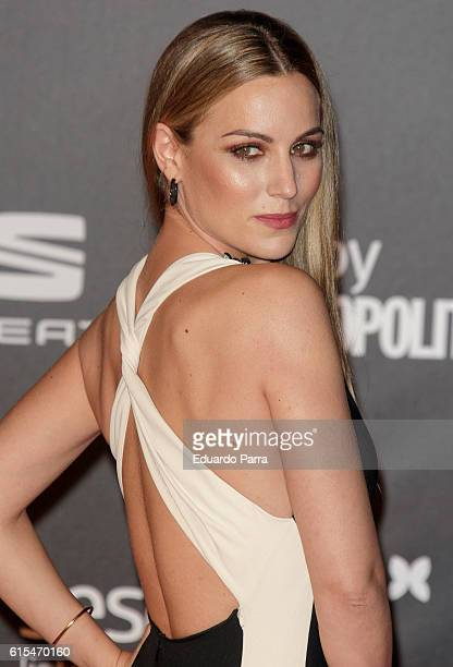 Singer Edurne Garcia attends the 'Cosmopolitan Fun Fearless Female' awards 2016 at La Riviera Disco on October 18 2016 in Madrid Spain