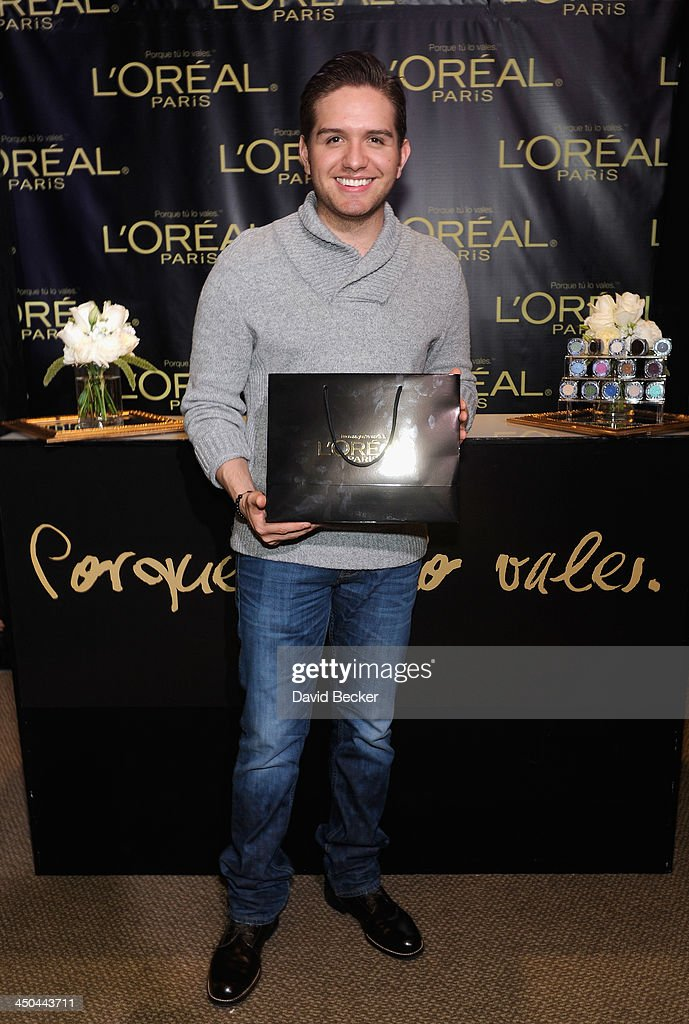 Singer El Dasa attends a gift lounge during the 14th annual Latin GRAMMY Awards at the Mandalay Bay Events Center on November 18, 2013 in Las Vegas, Nevada.