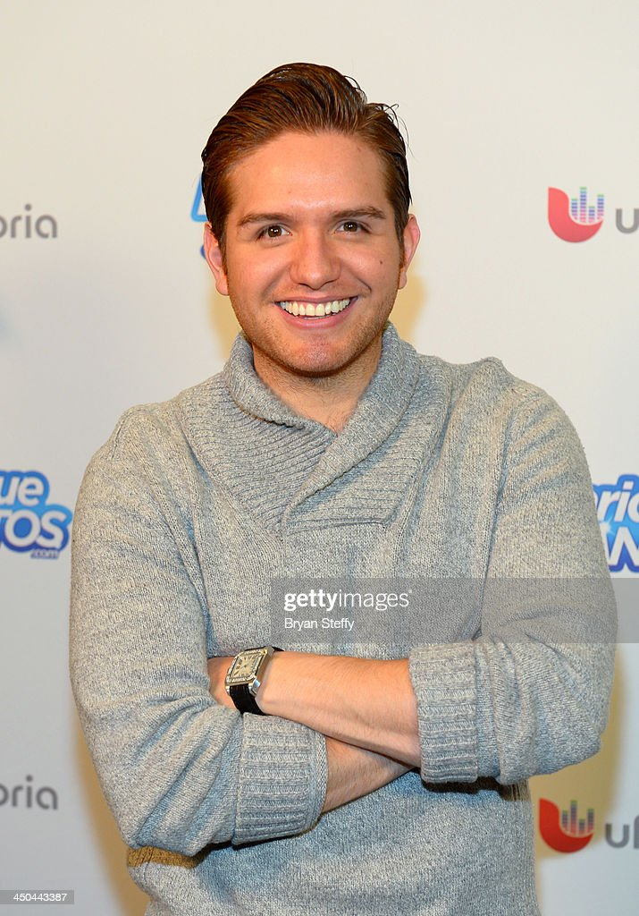 Singer El Dasa attends the Univision Radio Remotes during the 14th annual Latin GRAMMY Awards at the Mandalay Bay Events Center on November 18, 2013 in Las Vegas, Nevada.