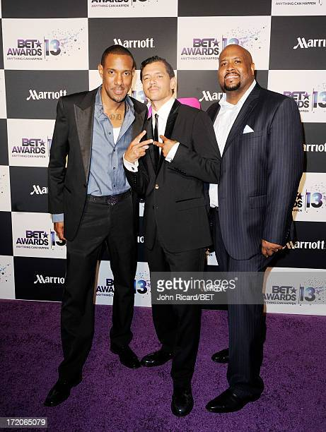 Singer El DeBarge and guests attend Post Reception during the 2013 BET Awards at JW Marriot at LA Live on June 30 2013 in Los Angeles California