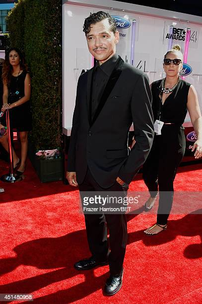 Singer El DeBarge attends the BET AWARDS '14 at Nokia Theatre LA LIVE on June 29 2014 in Los Angeles California