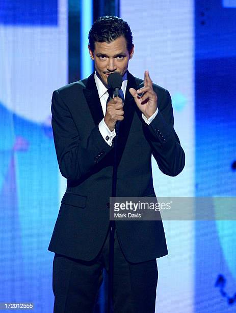 Singer El DeBarge performs onstage during the 2013 BET Awards at Nokia Theatre LA Live on June 30 2013 in Los Angeles California