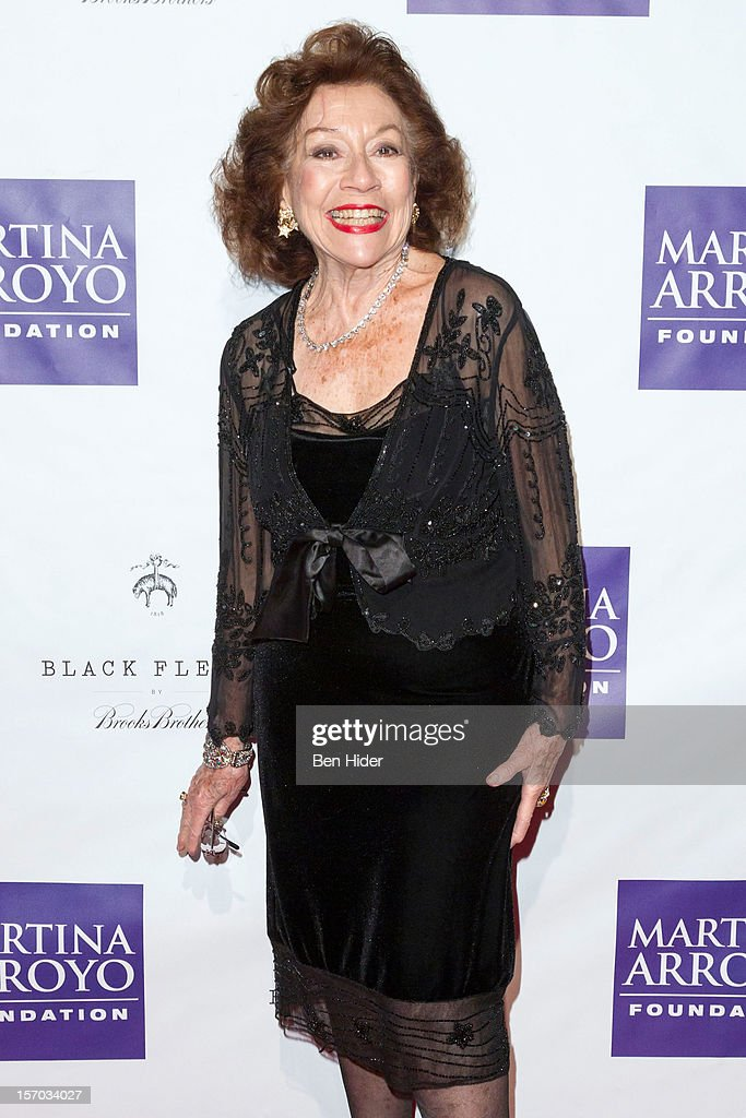 Singer Elaine Malbin attends Martina Arroyo Annual Foundation Gala at 583 Park Avenue on November 27, 2012 in New York City.