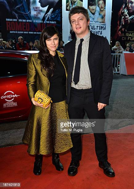 Singer Elisa and Andrea Rigonat attend the Opening Ceremony and 'L'Ultima Ruota Del Carro' Premiere during The 8th Rome Film Festival at Auditorium...