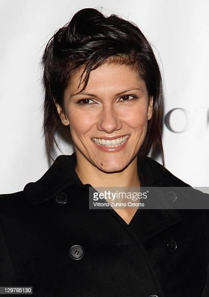Singer Elisa attends the 'Cocktail Per La Vita' charity event at Museo Bagatti Valsecchi on October 20 2011 in Milan Italy