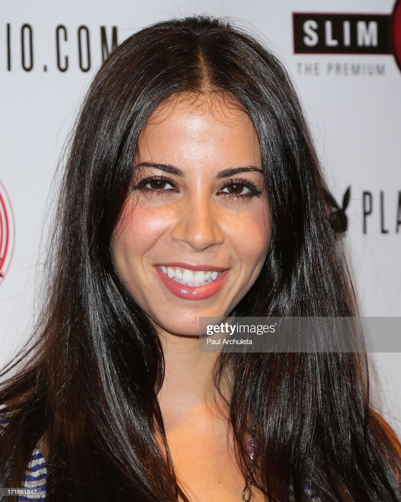 Singer Elisa Ruiz attends the Birthday Party for Playboy Radio and TV Personality Jessica Hall at Sweet Candy store on June 26, 2013 in Hollywood, California.