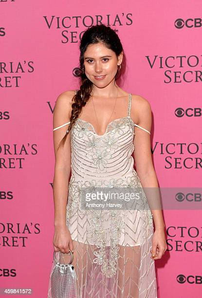 Singer Eliza Doolittle attends the pink carpet of the 2014 Victoria's Secret Fashion Show on December 2 2014 in London England