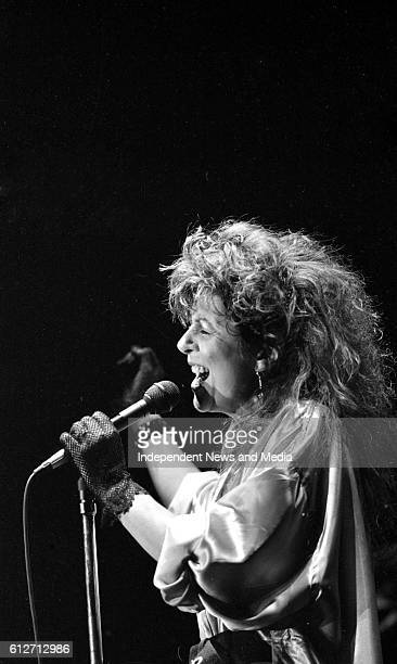 Singer Elkie Brooks concert in the RDS Dublin
