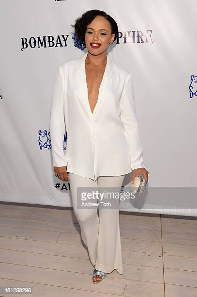 Singer Elle Varner attends as Russell Simmons' Rush Philanthropic Arts Foundation Celebrates 20th Anniversary At Annual Art For Life Benefit at...
