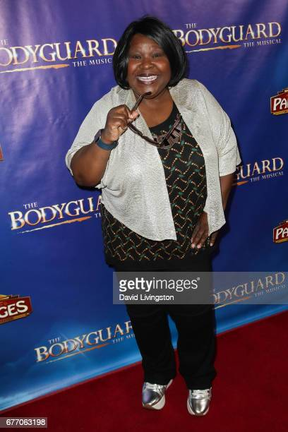 Singer Ellia English arrives at the premiere of 'The Bodyguard' at the Pantages Theatre on May 2 2017 in Hollywood California