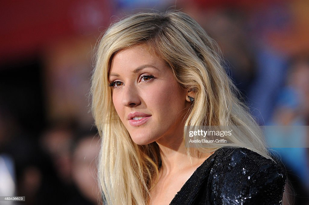 Singer <a gi-track='captionPersonalityLinkClicked' href=/galleries/search?phrase=Ellie+Goulding&family=editorial&specificpeople=6389309 ng-click='$event.stopPropagation()'>Ellie Goulding</a> arrives at the Los Angeles Premiere of 'Divergent' at Regency Bruin Theatre on March 18, 2014 in Los Angeles, California.
