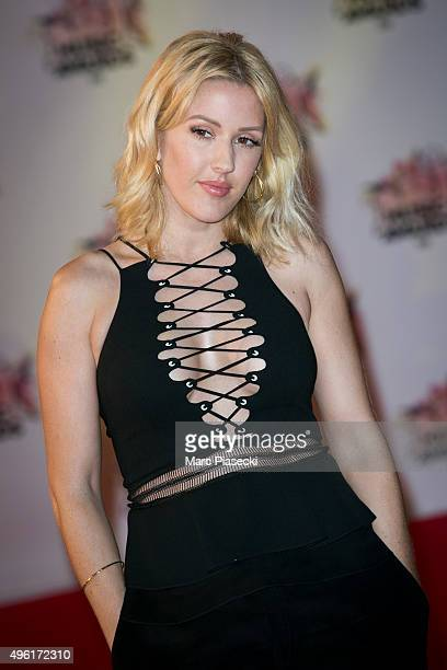 Singer Ellie Goulding attends the 17th NRJ Music Awards ceremony at Palais des Festivals on November 7 2015 in Cannes France