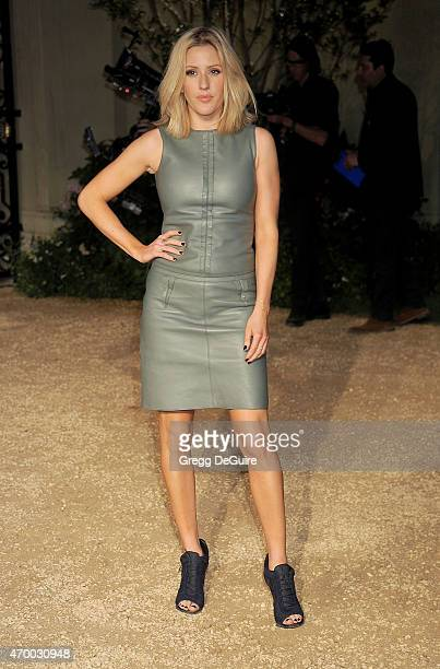 Singer Ellie Goulding attends the Burberry 'London in Los Angeles' event at Griffith Observatory on April 16 2015 in Los Angeles California