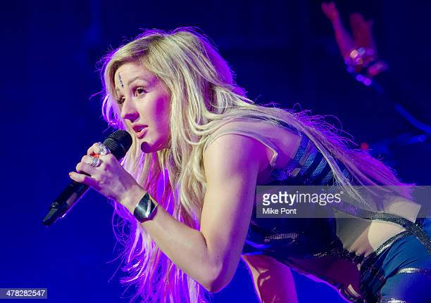 Ellie Goulding Madison Square Garden Stock Photos and Pictures