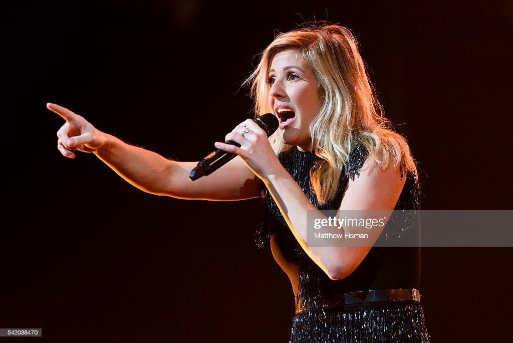 Fotos e imagens de Ellie Goulding In Concert New York NY