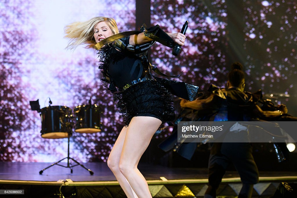 Ellie Goulding In Concert New York NY Getty Images