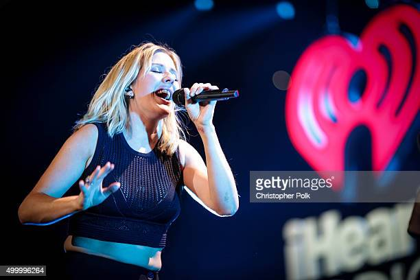 Singer Ellie Goulding performs onstage during 1027 KIIS FM's Jingle Ball 2015 Presented by Capital One at STAPLES CENTER on December 4 2015 in Los...