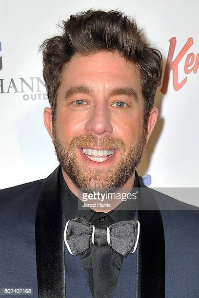 Singer Elliott Yamin attends the OC Christmas Extravaganza Concert and Ball at Christ Cathedral on December 23 2015 in Garden Grove California