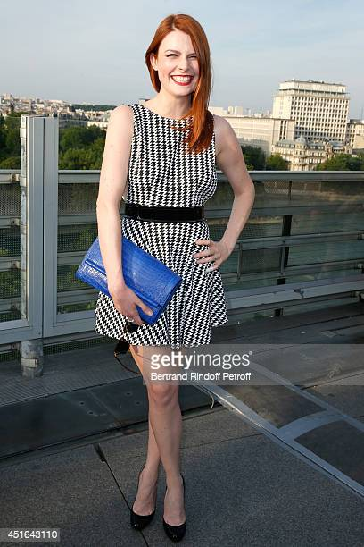 Singer Elodie Grege attends the launching of Chloe new Perfume 'Love Story' Held at Institut du Monde Arabe on July 2 2014 in Paris France
