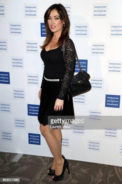 Singer Elsa Esnoult attends 'La Recherche en Physiologie' Charity Gala at Four Seasons Hotel George V on March 13 2017 in Paris France