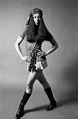 Singer Emaretta Marks poses for a portrait 1969