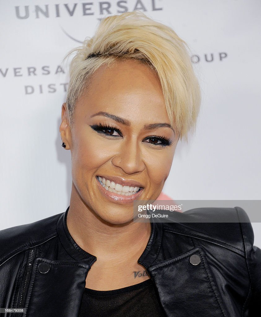 Singer <a gi-track='captionPersonalityLinkClicked' href=/galleries/search?phrase=Emeli+Sande&family=editorial&specificpeople=7220317 ng-click='$event.stopPropagation()'>Emeli Sande</a> arrives at the NARM Music Biz Awards dinner party at the Hyatt Regency Century Plaza on May 9, 2013 in Century City, California.