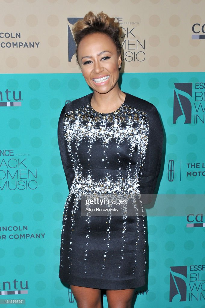 Singer Emeli Sande attends Essence Magazine's 5th Annual Black Women In Music Event at 1 OAK on January 22 2014 in West Hollywood California