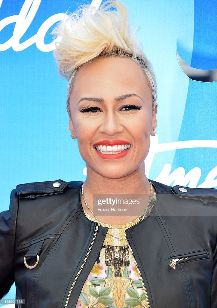 Singer Emeli Sande attends Fox's 'American Idol 2013' Finale - Results Show at Nokia Theatre L.A. Live on May 16, 2013 in Los Angeles, California.