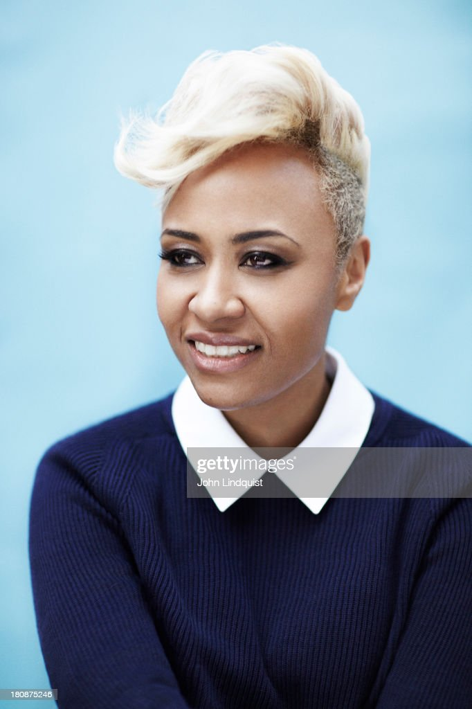 Singer Emeli Sande is photographed for the Sunday Times on January 27, 2013 in London, England.