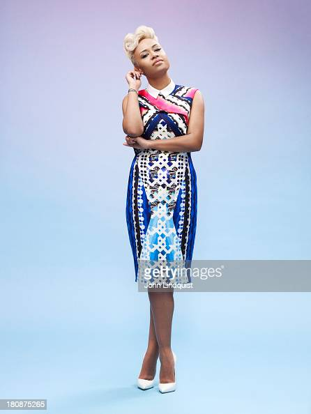 Singer Emeli Sande is photographed for the Sunday Times on January 27 2013 in London England