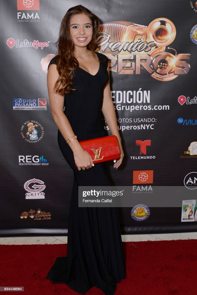 Singer Emilia Pedersen attends at Premios Gruperos 2017 at Queens Theatre on August 17, 2017 in the Queens borough of New York City.