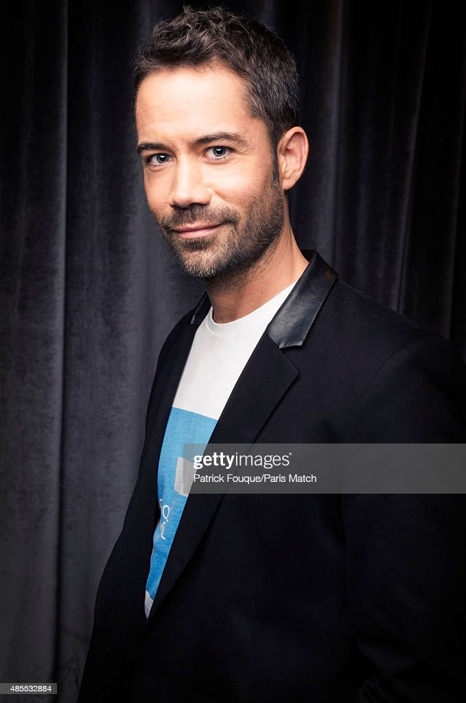 Singer <a gi-track='captionPersonalityLinkClicked' href=/galleries/search?phrase=Emmanuel+Moire&family=editorial&specificpeople=549823 ng-click='$event.stopPropagation()'>Emmanuel Moire</a> is photographed for Paris Match on October 24, 2013 in Paris, France.
