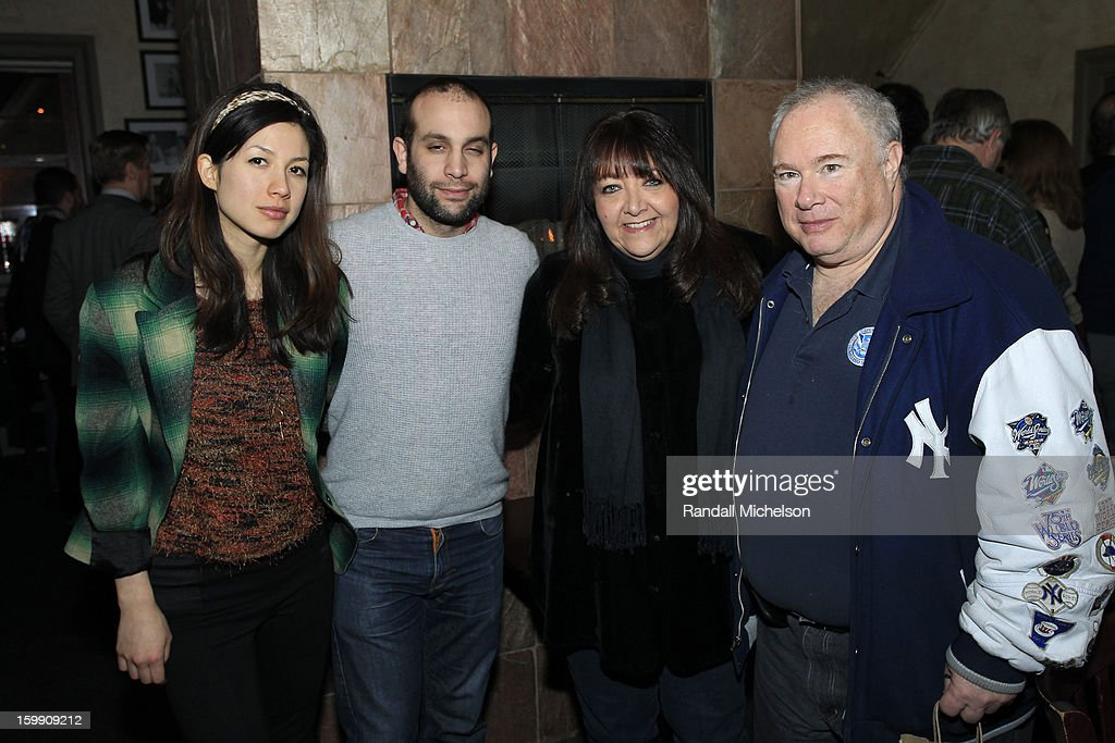 Singer Emmy The Great, Composer Ilan Eshkeri, Doreen Ringer-Ross and Manager Toby Mamis attend the BMI Sundance Dinner at Zoom Restaurant on January 22, 2013 in Park City, Utah.