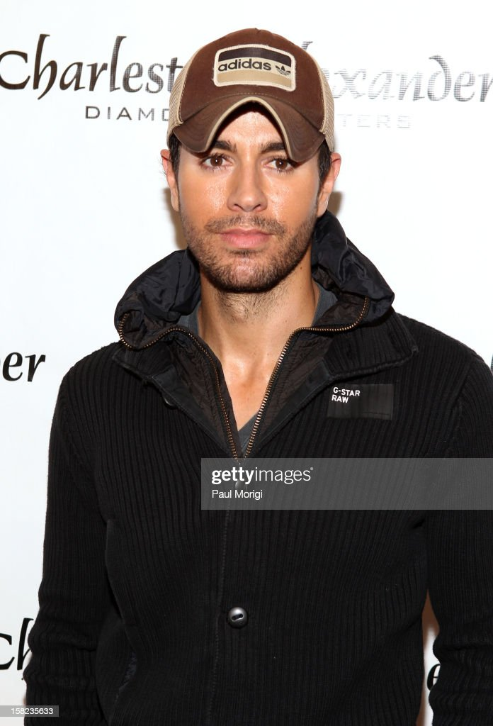 Singer Enrique Iglesias attends Hot 99.5's Jingle Ball 2012, presented by Charleston Alexander Diamond Importers, at The Patriot Center on December 11, 2012 in Washington, D.C.
