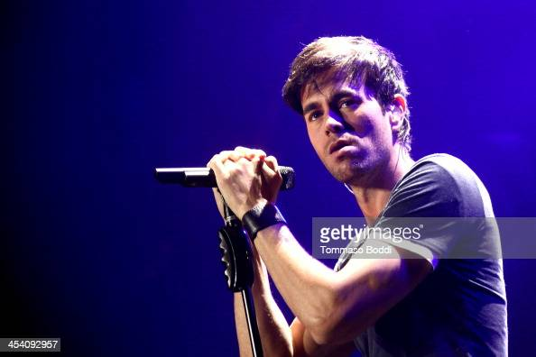Singer Enrique Iglesias performs onstage during KIIS FMs Jingle Ball 2013 at Staples Center on December 6 2013 in Los Angeles California