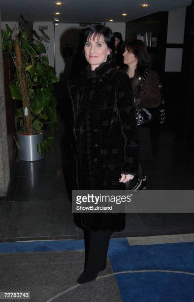 Singer Enya arrives as a guest on The Late Late Show on December 8 2006 in Dublin Ireland