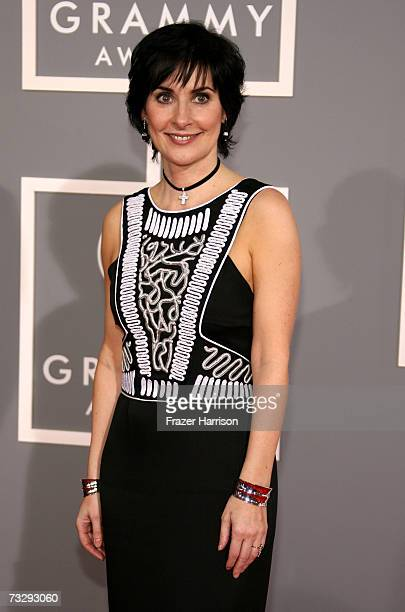 Singer Enya arrives at the 49th Annual Grammy Awards at the Staples Center on February 11 2007 in Los Angeles California