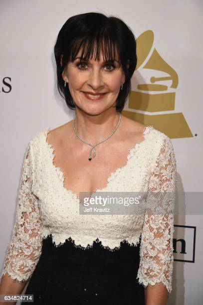 Singer Enya attends the 2017 PreGRAMMY Gala And Salute to Industry Icons Honoring Debra Lee at The Beverly Hilton Hotel on February 11 2017 in...
