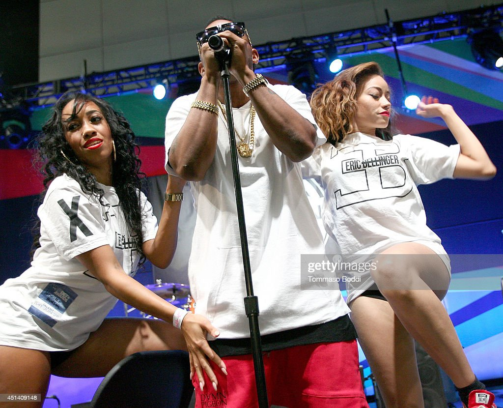 Singer Eric Bellinger performs onstage at the Music Matters presented by Nissan during the 2014 BET Experience At L.A. LIVE on June 28, 2014 in Los Angeles, California.